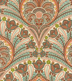 Tommy Bahama Crescent Beach Coral fabric at Joanns Coral Fabric, Beach Fabric, Flower Fabric, Textiles, Textile Prints, Textile Design, 3d Max, Halloween Wallpaper, Home Decor Fabric