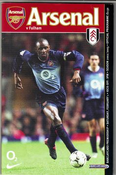 Arsenal v Fulham Football Programme Premiership 01/02/2003 Listing in the Premiership Fixtures,1992-2004,League Fixtures,English Leagues,Football (Soccer),Sports Programmes,Sport Memorabilia & Cards Category on eBid United Kingdom