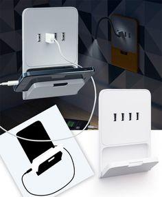 Zaryadkus USB Socket by Art Lebedev Studio