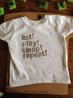 diy hand stamped t shirt and design ideas tutorial - T Shirt Design Ideas Pinterest