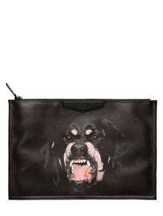 Rottweiler Printed Large Pouch - Lyst