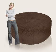 The 6 ft Comfy Sack is our ultimate bean bag chair for kickin' back and watching a movie. It is our most popular sack to date because of its versatile and complimentary style. Our comfortable urethane foam will provide you an unbelievably comfortable seat
