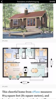 Sims House Plans, Small House Floor Plans, Small Tiny House, Tiny House Village, Tiny House Cabin, Tiny House Living, Sims 4 House Design, Tiny House Design, Casas The Sims 4