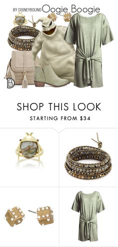 """Oogie Boogie"" by leslieakay ❤ liked on Polyvore featuring Daniela Villegas, Chan Luu, Marc Jacobs, Sans Souci, Splendid, disney, disneybound and disneycharacter"