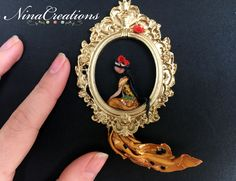 Doll in a frame collection  Klimt - il bacio/thekiss   NinaCreations <3