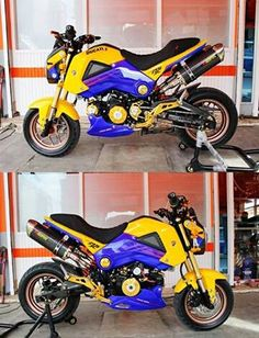 200+ Custom Honda Grom | MSX125 Pictures / Photo Gallery. Stretched & Lowered + Turbo Kits + Custom Wheels & Paint + Sport Bike Fairings / Plastics and More on Honda's hottest selling motorcycle in many years! www.HondaProKevin.com
