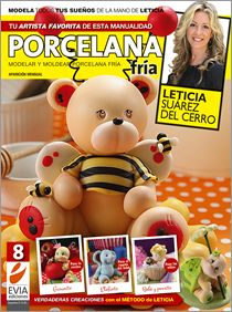 Modelar en PORCELANA FRIA Nº 08 - 2012 #Evia