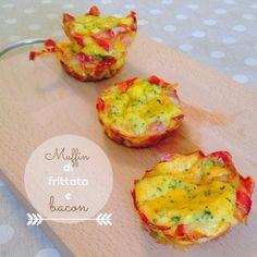 Azzu Life: Muffin di frittata e bacon