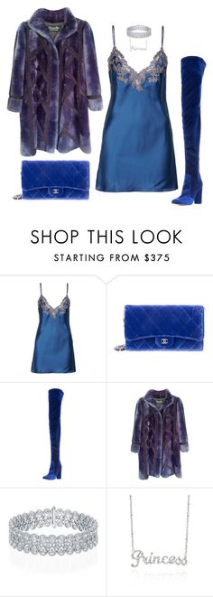 """Sugar Baby"" by hy1as on Polyvore featuring Mode, La Perla, Chanel, Aquazzura, Christian Dior und Belk & Co."
