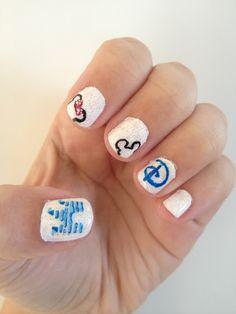 Disney Nail Design!