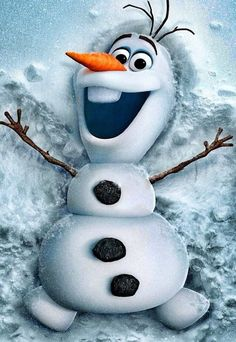 """Olaf from Disney's animated cartoon """"Frozen"""". Olaf is an adorable character that was brought to life by Elsa, by the he loves summer which is so ironic. If you have not seen Frozen it's a must see cartoon and now you know a little about Olaf. Disney Olaf, Frozen Disney, Disney E Dreamworks, Disney Amor, Disney Magic, Disney Pixar, Olaf Frozen, Frozen 2013, Frozen Live"""