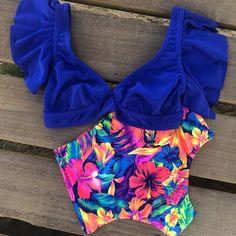 Push Up Bikini, Two Piece Swimsuits, Women Swimsuits, Cheap Swimsuits, Retro Bathing Suits, Bikinis, Beachwear For Women, Beachwear Fashion, Women's Swimwear
