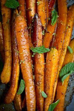 Geroosterde wortels met komijn