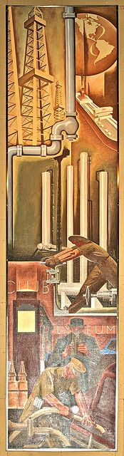 Oil Industry, Design Exchange Charles Comfort