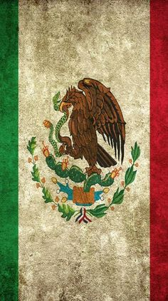 Mexico flag the eagle and snake Premium Vector Mexico