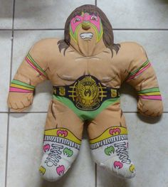 Vintage ULTIMATE WARRIOR wwf wcw wwe Wrestling by N8CustomTees, $150.00... If this was a better price I would buy this for Joe in a heartbeat!