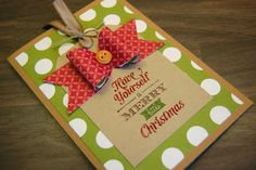 Julie's Japes - A Top Independent Stampin' Up! Demonstrator in the UK: Merry Little Christmas