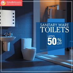 Bring home the best variety of bathroom toilets from Global Bathroom UK.  Up to 50% off.  To buy visit -https://goo.gl/NEQfva  #bathroomtoilets #sanitaryware #bestdeals #onlineoffers #UK #London