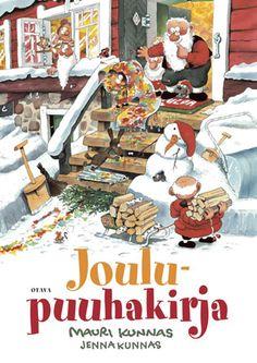 Gioca e colora. Comic Drawing, Christmas Books, Christmas Cards, Finland, Illustrators, Santa, Children, Artist, Bujo