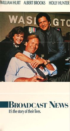 Broadcast News (1987) Original Australian Movie Poster