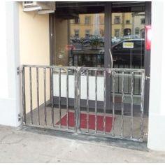 Iron Pedestrian Gate. Customize Realisations. 047 Pedestrian, Cribs, Gate, Divider, Applique, Iron, Bed, Furniture, Design