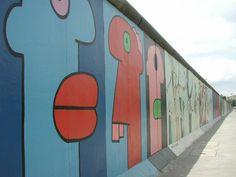 Berlin former wall
