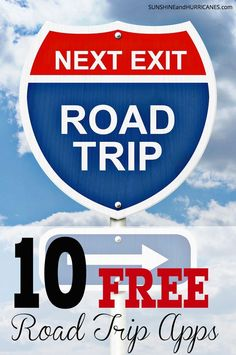 Looking to get away this summer by taking a family road trip?  These days, technology has made this time honored tradition a much easier adventure with information, education and other travel resources right at your fingertips.  Have fun, save money and know all the best insider tips and tricks for road travel with these 10 FREE road trip apps. SunshineandHurricanes.com
