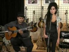 ! Acoustic. Amy Winehouse sings a soft  version of Black to Black and it is beautiful.