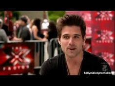 Brennin Hunt audition, singing an original song. The X Factor U.S., season 1, 2011.  To quote one of the comments:  When I see him:  WOW!  When he talks: Ow.. okay.. When he sings: Damn.