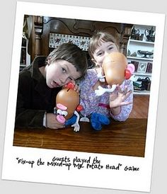 Potato head game