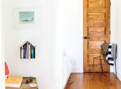 A tiny cabin in an all-American town offers a designer respite - Curbed
