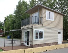 the eagle 1 micro home 001 600x472   The Eagle 1: A 350 Sq. Ft. 2 Story Steel Framed Micro Home