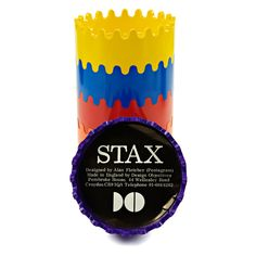 Stax ashtray | Alan Fletcher