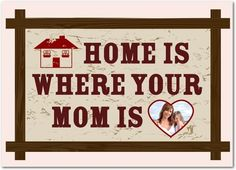 Where Home Is - Mother's Day Greeting Cards - Magnolia Press - Chenille - Pink : Front