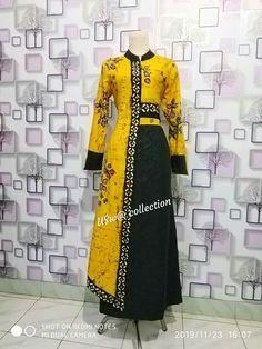 Batik Fashion, Abaya Fashion, Fashion Sewing, Muslim Fashion, Ethnic Fashion, Girls Fashion Clothes, Women's Fashion Dresses, Girl Fashion, Clothes For Women