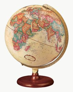 Find Antique World Globe 12