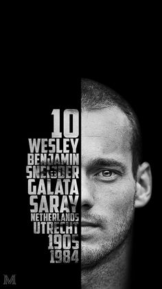 Wesley Sneijder Typography