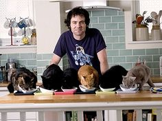 """Finding Tough Cats is Easy for Tom Cox, British author of """"Under the Paw: Confessions of a Cat Man"""""""