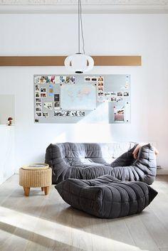 togo sofa from ligne roset. sweet dreams! :) www.lignerosetsf