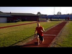 A Typical Long Jump Workout - YouTube