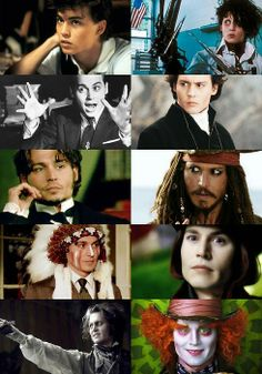 This is an artist who does it right! Truly attempting to act different than himself in every character he plays! Your art is much appreciated Mr. Depp! ❤