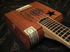 String Cigar Box Guitar.