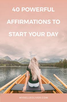 Powerful affirmations release you from self-doubt, guilt, fear and shame. These statements will help you become more confident throughout the day. Positive Mindset, Positive Affirmations, Journal Questions, How To Become Successful, Feeling Hopeless, Behavior Change, Finding Happiness, Self Awareness, Coping Skills