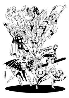 Heroes by Jim Steranko