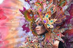 Jember fashion carnaval - East Java, Indonesia