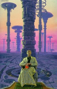 Hari Seldon    Cover for Foundation by Isaac Asimov; cover art by Michael Whelan