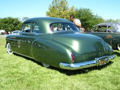 chevy bussines coupe with pontiac belt line and 41 stude tail lights