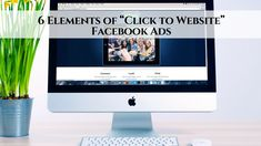 """Facebook is one of the largest advertising platforms in existence today. What I love about Facebook is it's ease of use and the simplicity for newbie marketer  6 Elements of """"Click to Website"""" Facebook Ads http://blog.myleadsystempro.com/6-elements-click-website-facebook-ads?id=alwilliams49  #wealth #success #bussiness"""