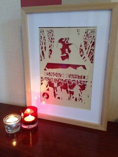 Snow White Framed Paper Cut Available Online To Buy From Bramble Crafts For A Great Deal On Snow White Framed Paper Cut Or Any Other Unique Handmade Craft Gifts And Creative Gift Ideas Visit Stallandcraftcollective.co.uk #2622