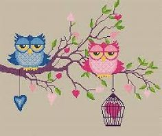 Bildergebnis für eule sticken Owls, To Draw